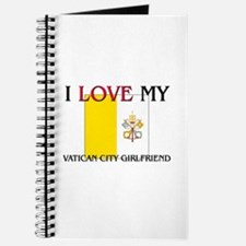 I Love My Vatican City Girlfriend Journal