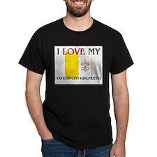 I Love My Vatican City Girlfriend T-Shirt
