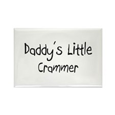 Daddy's Little Crammer Rectangle Magnet
