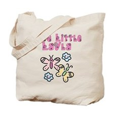 Cute Little Layla Tote Bag