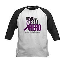 Never Knew A Hero 2 Purple (Grandma) Tee