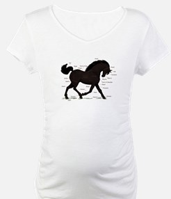 Black Horse Anatomy Chart Shirt