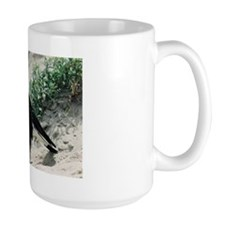 Australian Magpie on Beach Mug