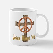 Jesus Hates War Mug