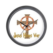 Jesus Hates War Wall Clock