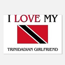 I Love My Trinidadian Girlfriend Postcards (Packag
