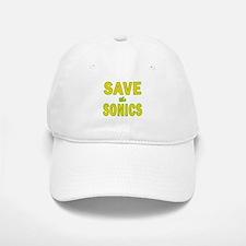 Save the Sonics in Seattle Baseball Baseball Cap