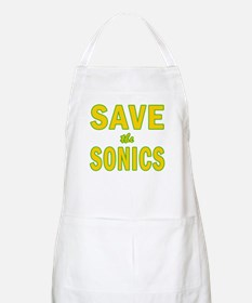Save the Sonics in Seattle BBQ Apron