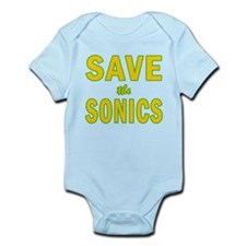 Save the Sonics in Seattle Infant Bodysuit