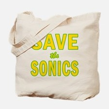Save the Sonics in Seattle Tote Bag