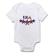 USA Infant Bodysuit