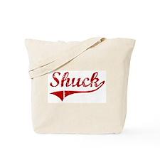 Shuck (red vintage) Tote Bag
