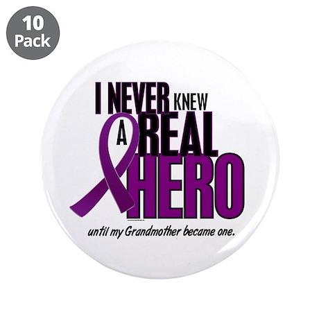 "Never Knew A Hero 2 Purple (Grandmother) 3.5"" Butt"