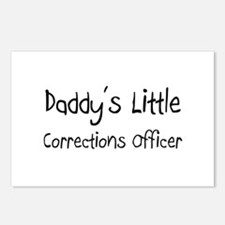 Daddy's Little Corrections Officer Postcards (Pack