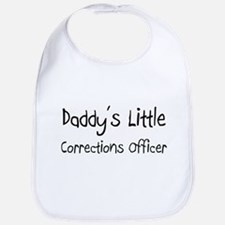 Daddy's Little Corrections Officer Bib