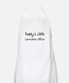 Daddy's Little Corrections Officer BBQ Apron