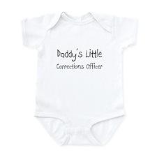 Daddy's Little Corrections Officer Infant Bodysuit