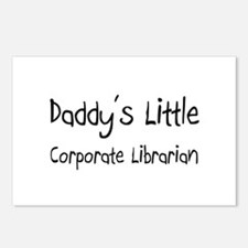 Daddy's Little Corporate Librarian Postcards (Pack