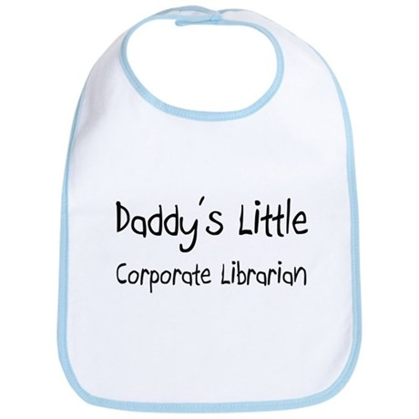 Daddy's Little Corporate Librarian Bib