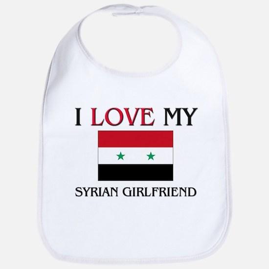 I Love My Syrian Girlfriend Bib