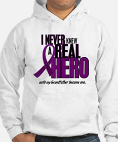 Never Knew A Hero 2 Purple (Grandfather) Hoodie