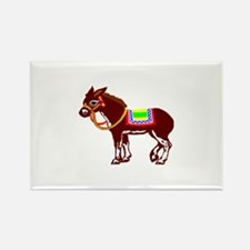 Pin the tail on the donkey Rectangle Magnet