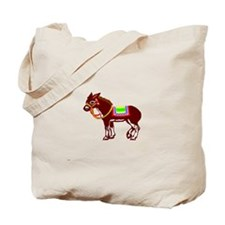 Pin the tail on the donkey Tote Bag