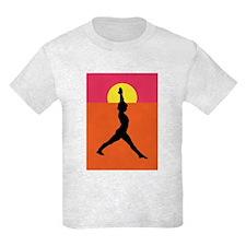 Yoga Warrior Pose T-Shirt