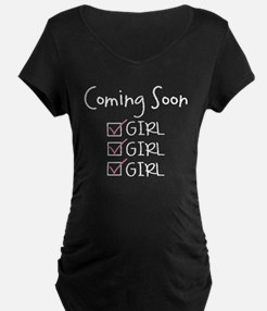Gilr Girl Girl Check T-Shirt