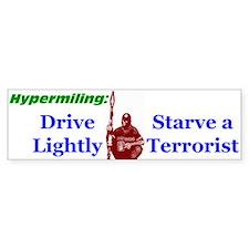 Starve a Terrorist Bumper Bumper Sticker