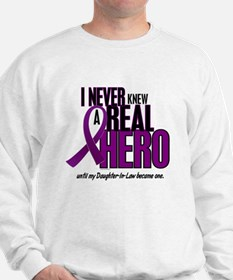 Never Knew A Hero 2 Purple (Daughter-In-Law) Sweat