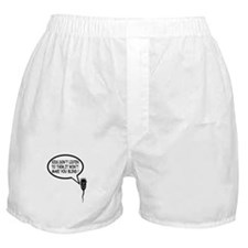 Funny and offensive wanker Boxer Shorts