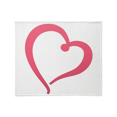 Best Heart Throw Blanket