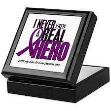 Never Knew A Hero 2 Purple (Son-In-Law) Keepsake B