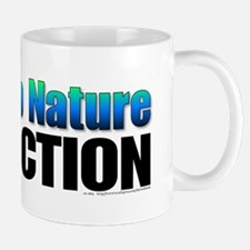 Worship nature not fiction. Mug