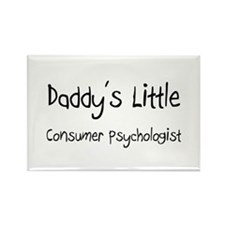 Daddy's Little Consumer Psychologist Rectangle Mag