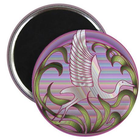 Heron Sunset Magnet