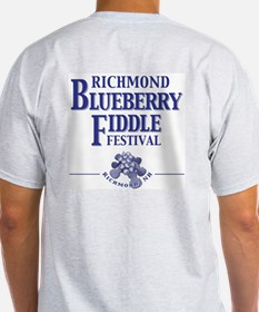 Richmond Blueberry Ash Grey T-Shirt