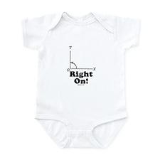Right On! Infant Bodysuit