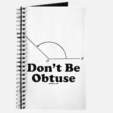 Don't Be Obtuse Journal