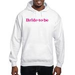 Bride-to-be Hooded Sweatshirt