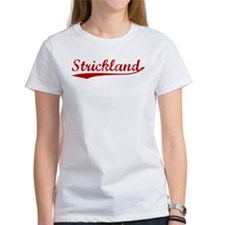 Strickland (red vintage) Tee