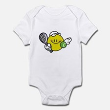 Smile Face Tennis Infant Bodysuit