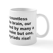 Funny Pope quotation Mug