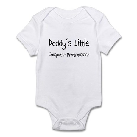 Daddy's Little Computer Programmer Infant Bodysuit