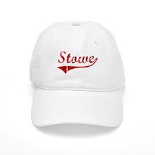 Stowe (red vintage) Baseball Cap