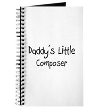 Daddy's Little Composer Journal