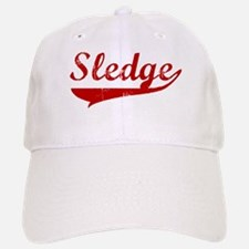 Sledge (red vintage) Baseball Baseball Cap