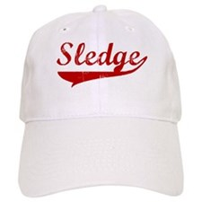 Sledge (red vintage) Baseball Cap