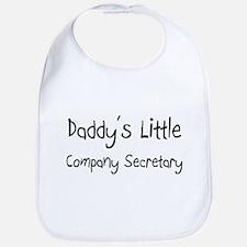 Daddy's Little Company Secretary Bib